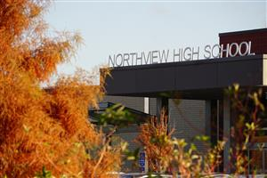 Front of Northview High School