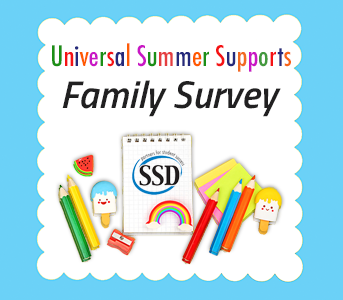 Family Survey Link for Universal Summer Supports