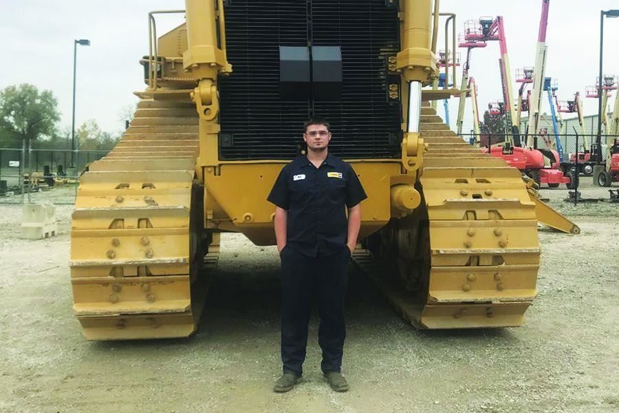 Diesel Alumnus Conner Joins Caterpillar Program at Missouri Tech