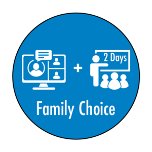 Phase 1 Family Choice with 2 Days in-person learning