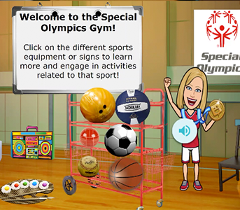 special olympics virtual classroom screenshot
